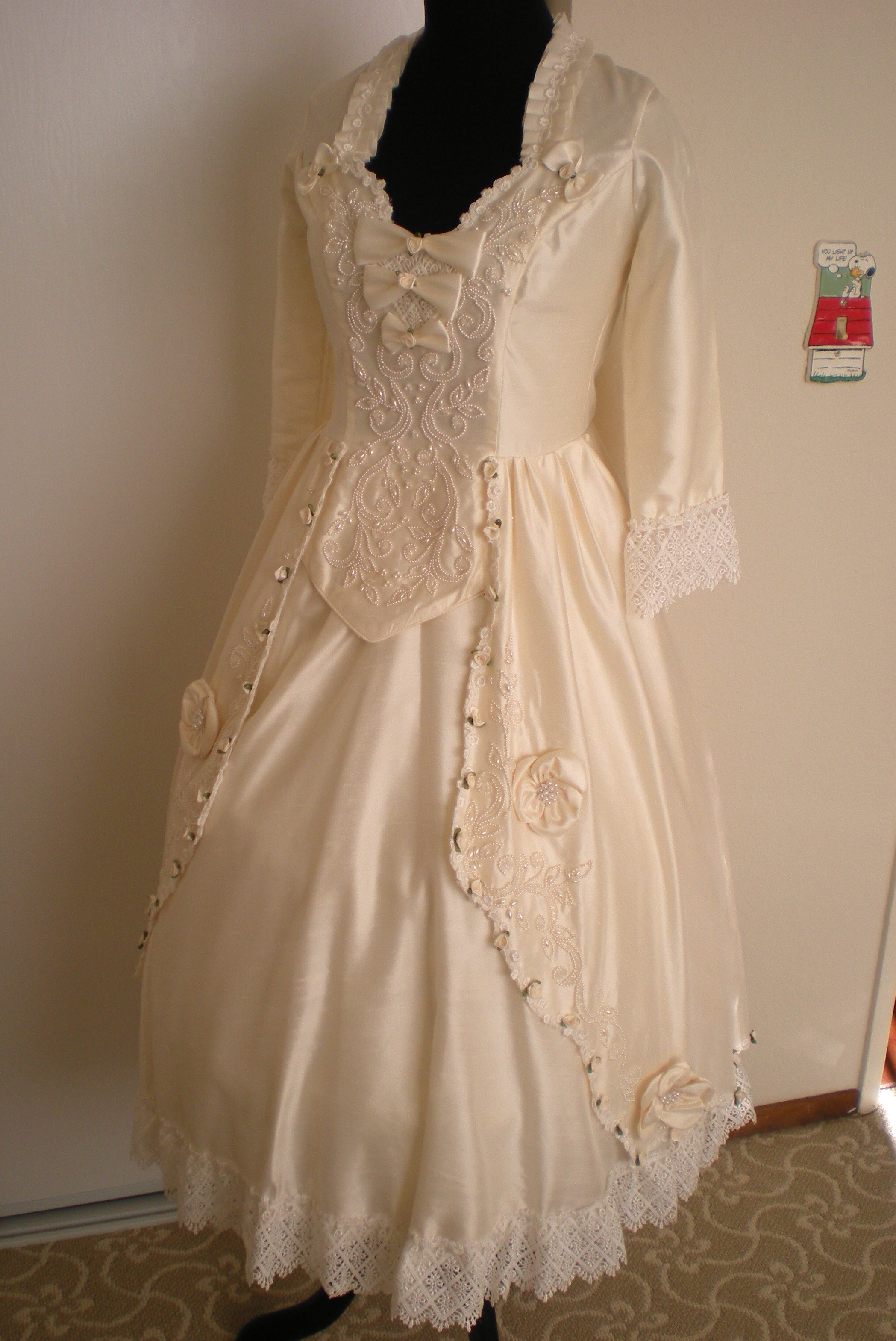 Robe a la Francaise (18th Century Lolita) Dress Project | Fresh Frippery