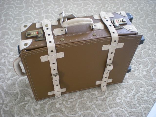 Bon Voyage! (Retro Suitcase with Vintage Luggage Stickers) | Fresh ...