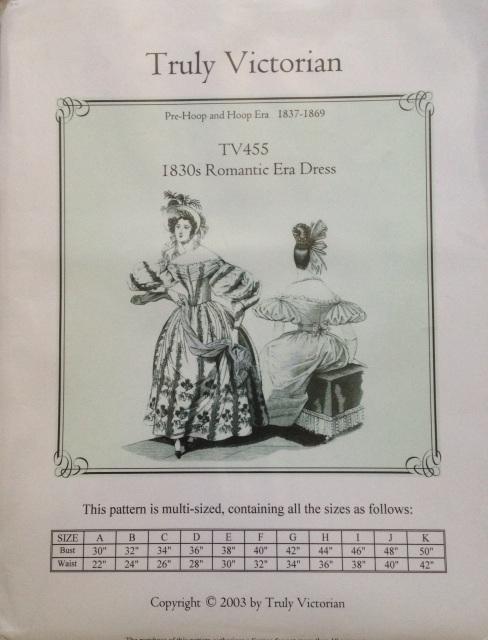 1830s pattern