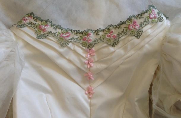 1830s bodice