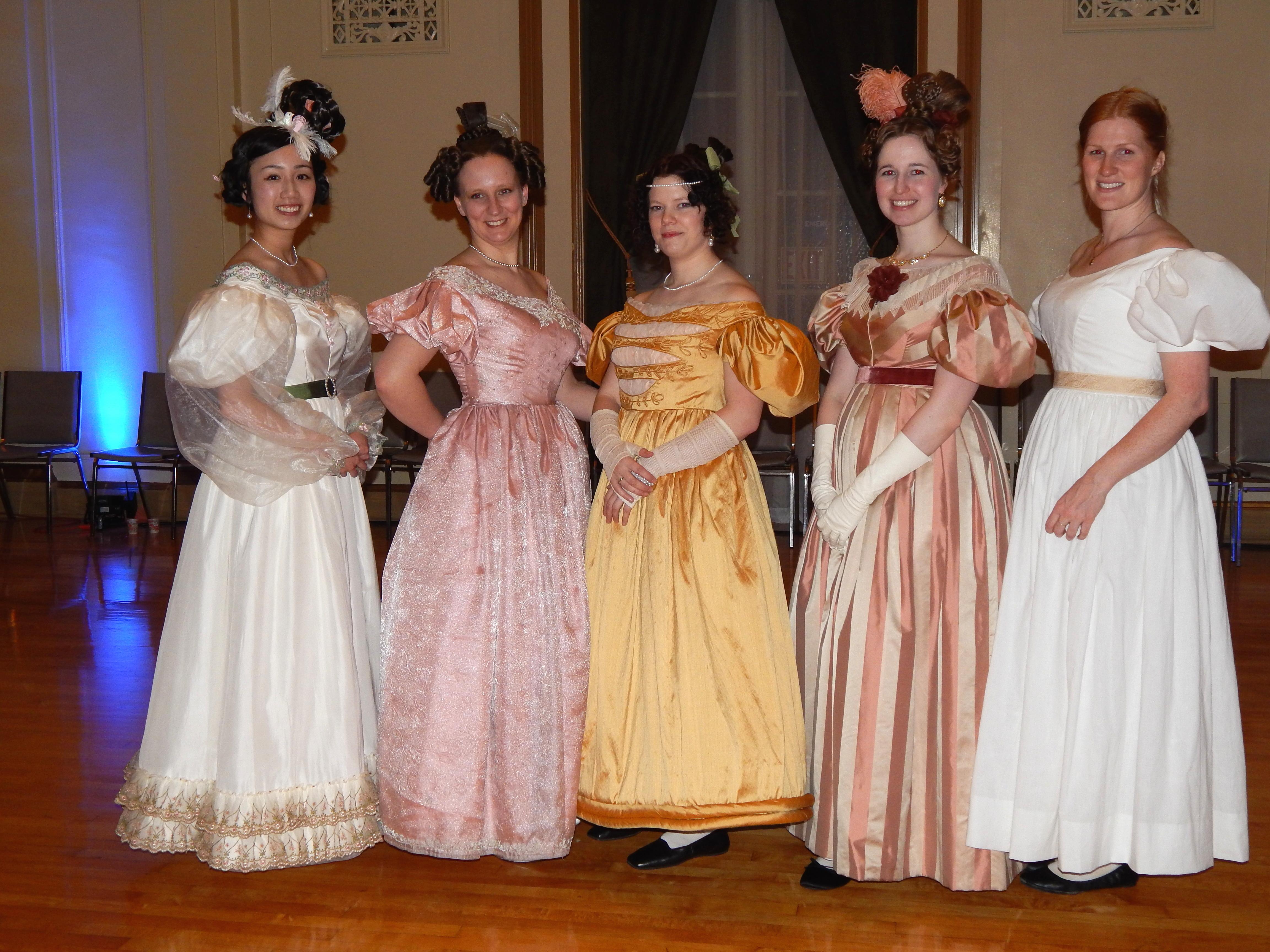 The Romantic Period Evening Dress