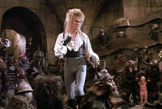 Jareth the Goblin King and Toby Labyrinth Costumes | Fresh ... Labyrinth David Bowie