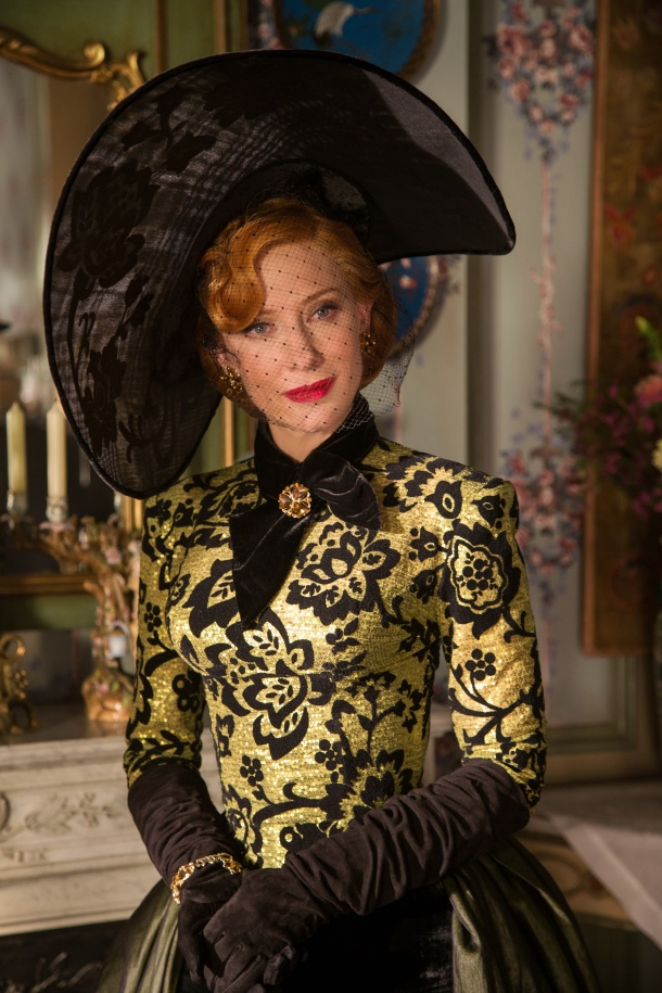 Cate Blanchett is the Stepmother in Disney's live-action feature CINDERELLA, directed by Kennth Branagh.