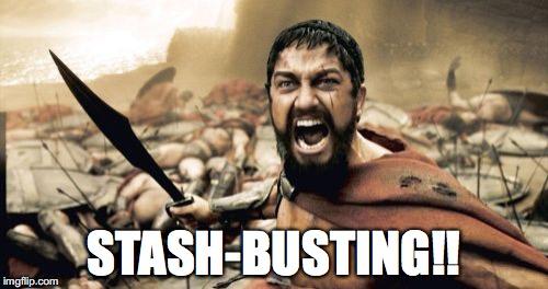 Stash-busting