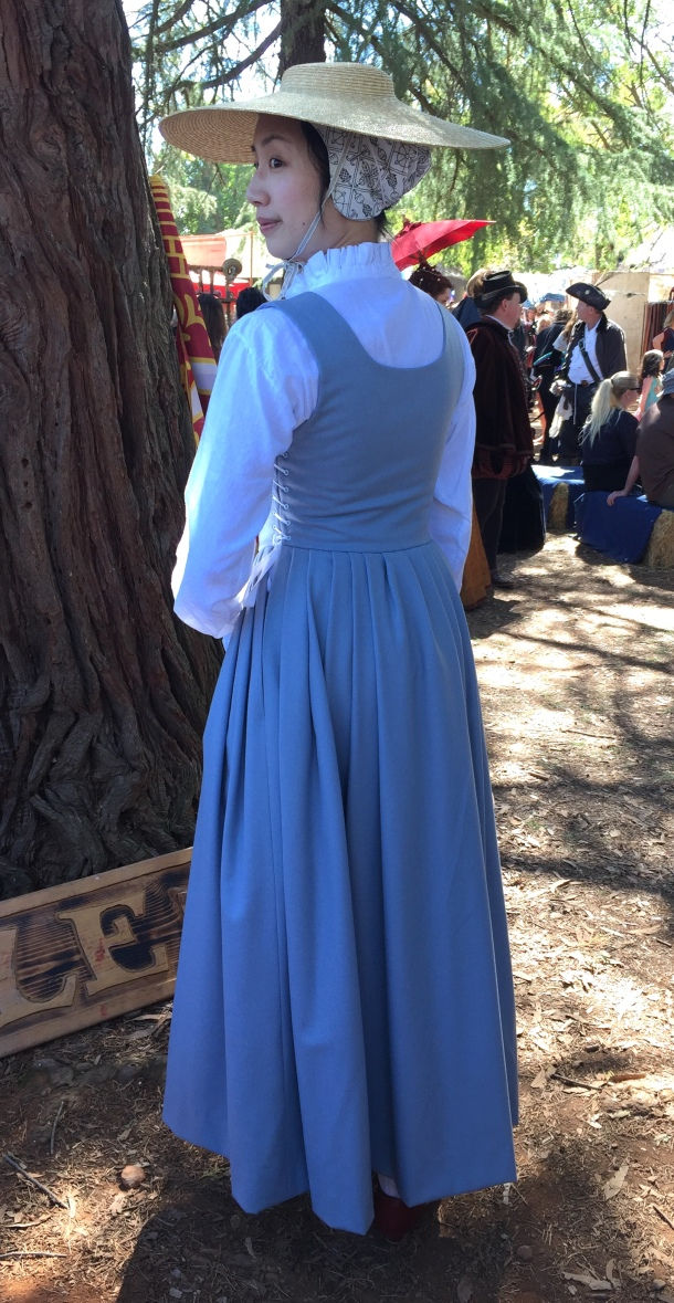 A Tudor Kirtle and Smock at a Renaissance Faire | Fresh Frippery